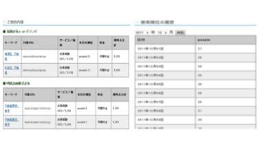 SEO管理システム